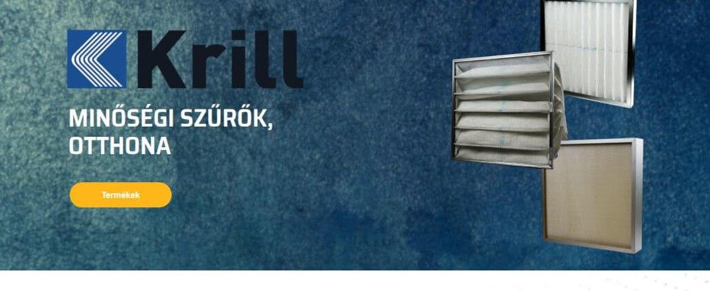 Krill új honlapja - blog - krill.hu
